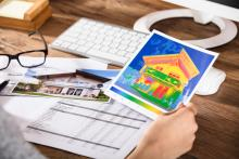 home energy audit, energy assessment, thermal imaging home
