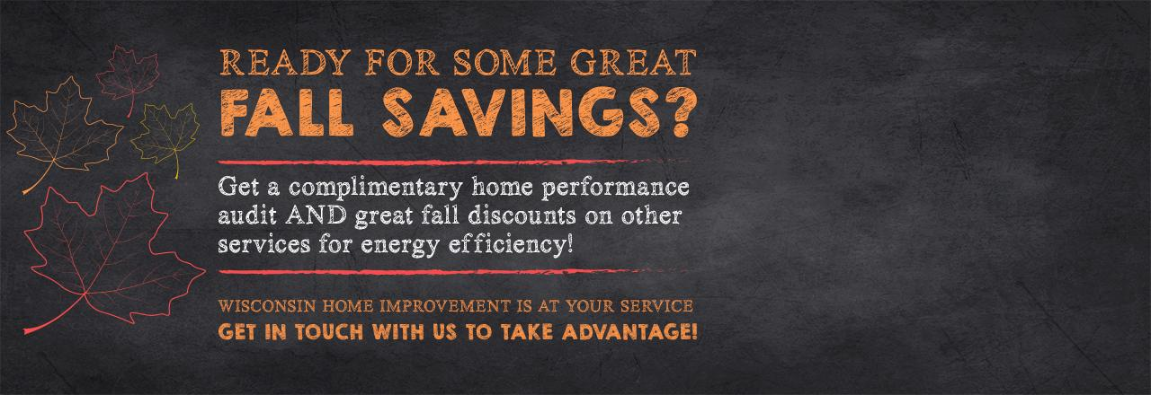 wisconsin home improvement, wisconsin energy assessment