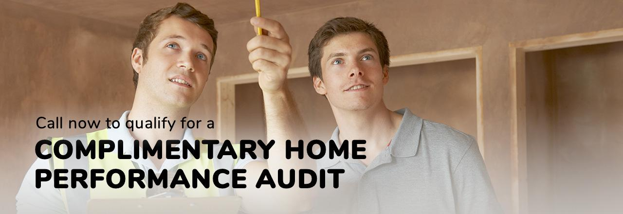Home Performance Audit Slide