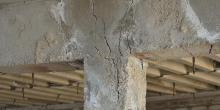 cracked foundation radon