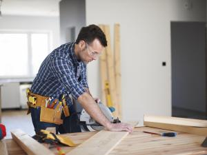 home remodeling worker