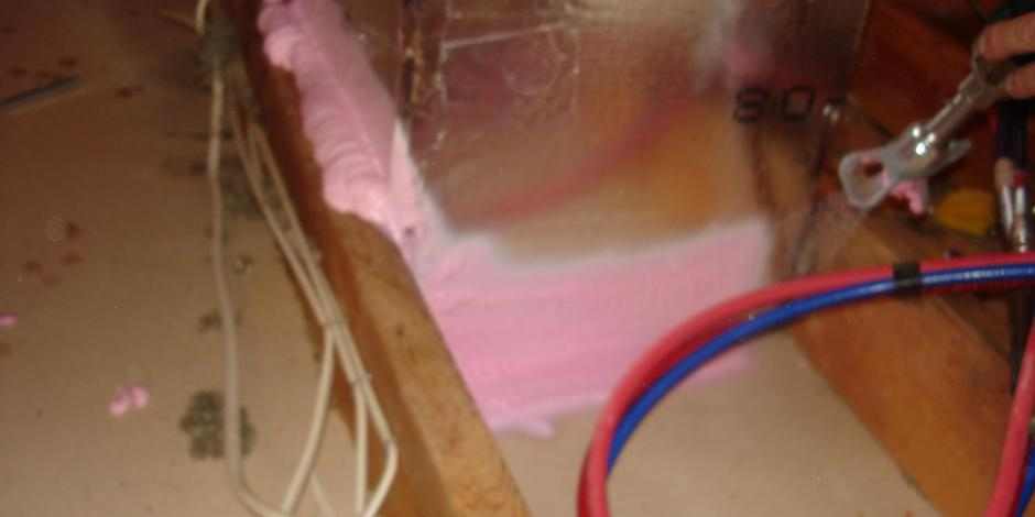retrofit insulation application Wisconsin Home Improvement