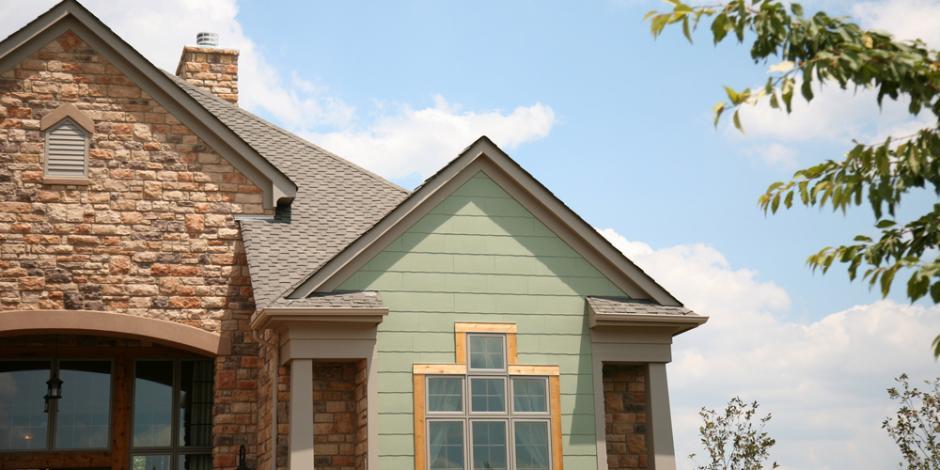 upscale home exterior