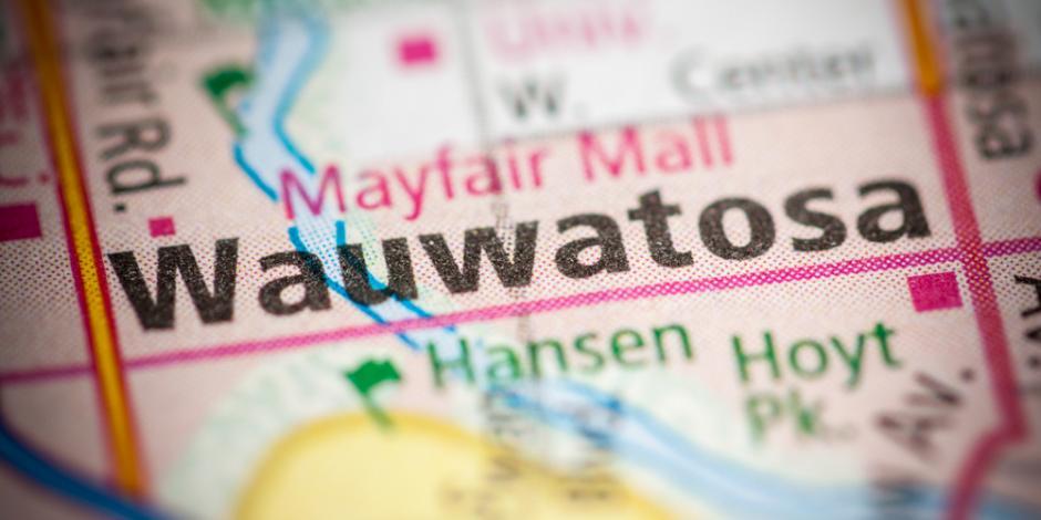 Wauwatosa, WI map