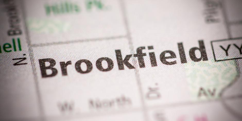 brookfield WI map