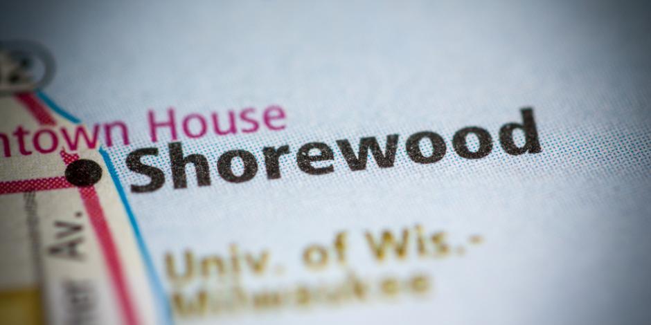 shorewood wisconsin map
