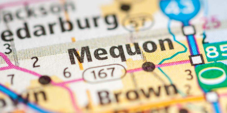 Mequon, WI map
