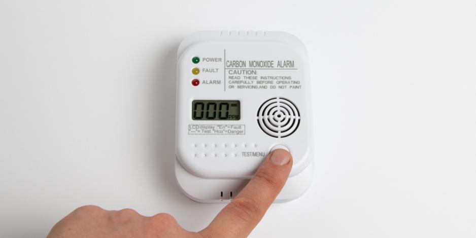 CO2 detector inside home