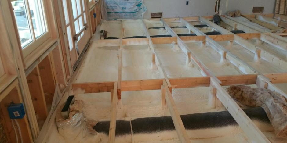 Floor insulation wi home improvement whitefish bay wi for How to fish wire through insulated wall