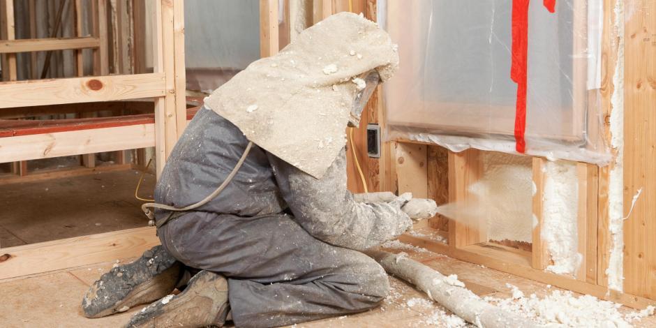 wall insulation installation