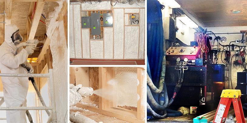 spray foam insulation in Wisconsin